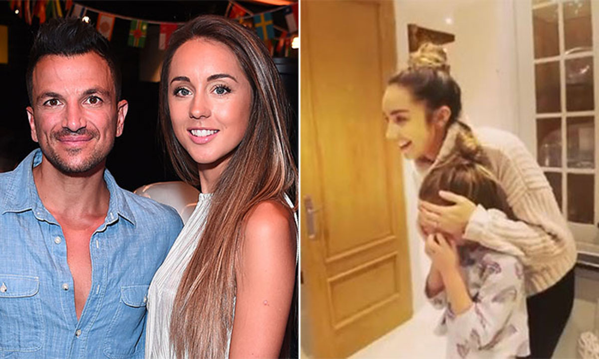 Peter Andre's daughter Amelia has the best reaction to incredible birthday surprise