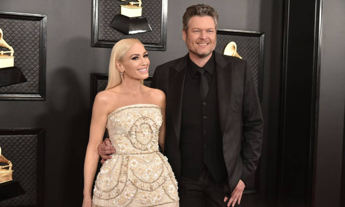 Is this what Gwen Stefani and Blake Shelton will wear on their wedding day?
