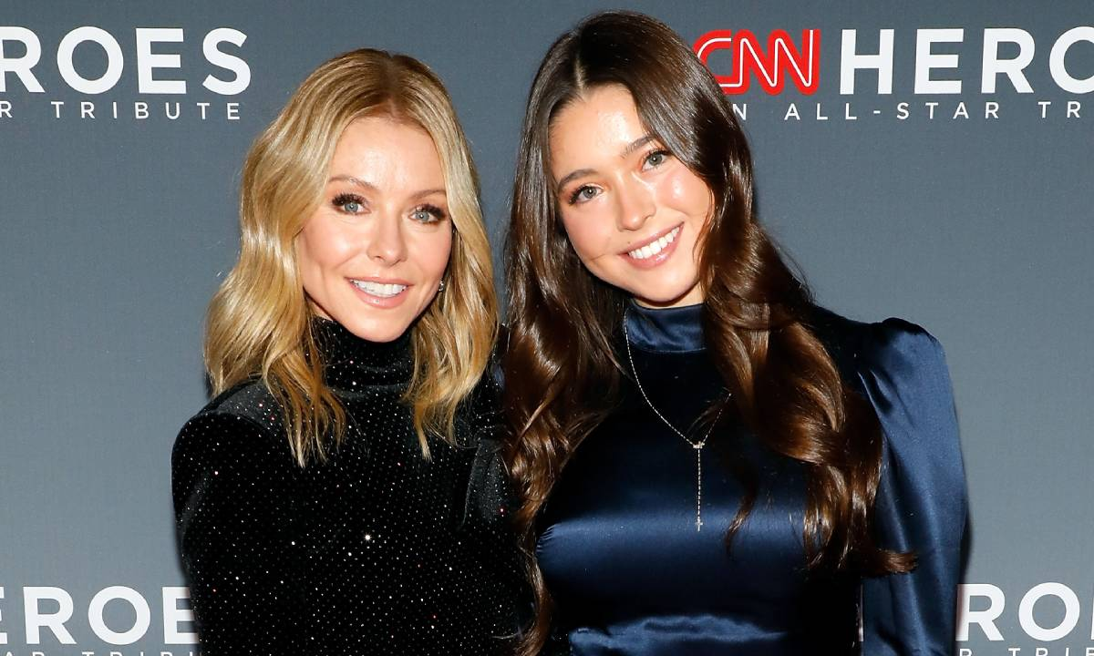 Kelly Ripa and daughter Lola left in hysterics in fun family video call