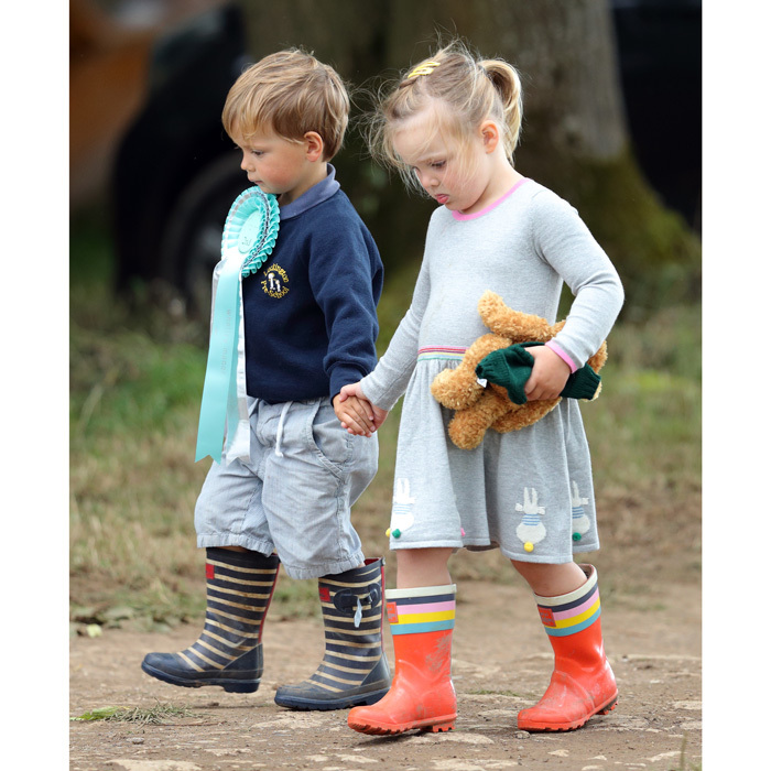 28 of Mia Tindall's cutest moments caught on camera