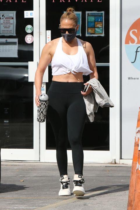 Jennifer Lopez Just Hit the Gym ... Again