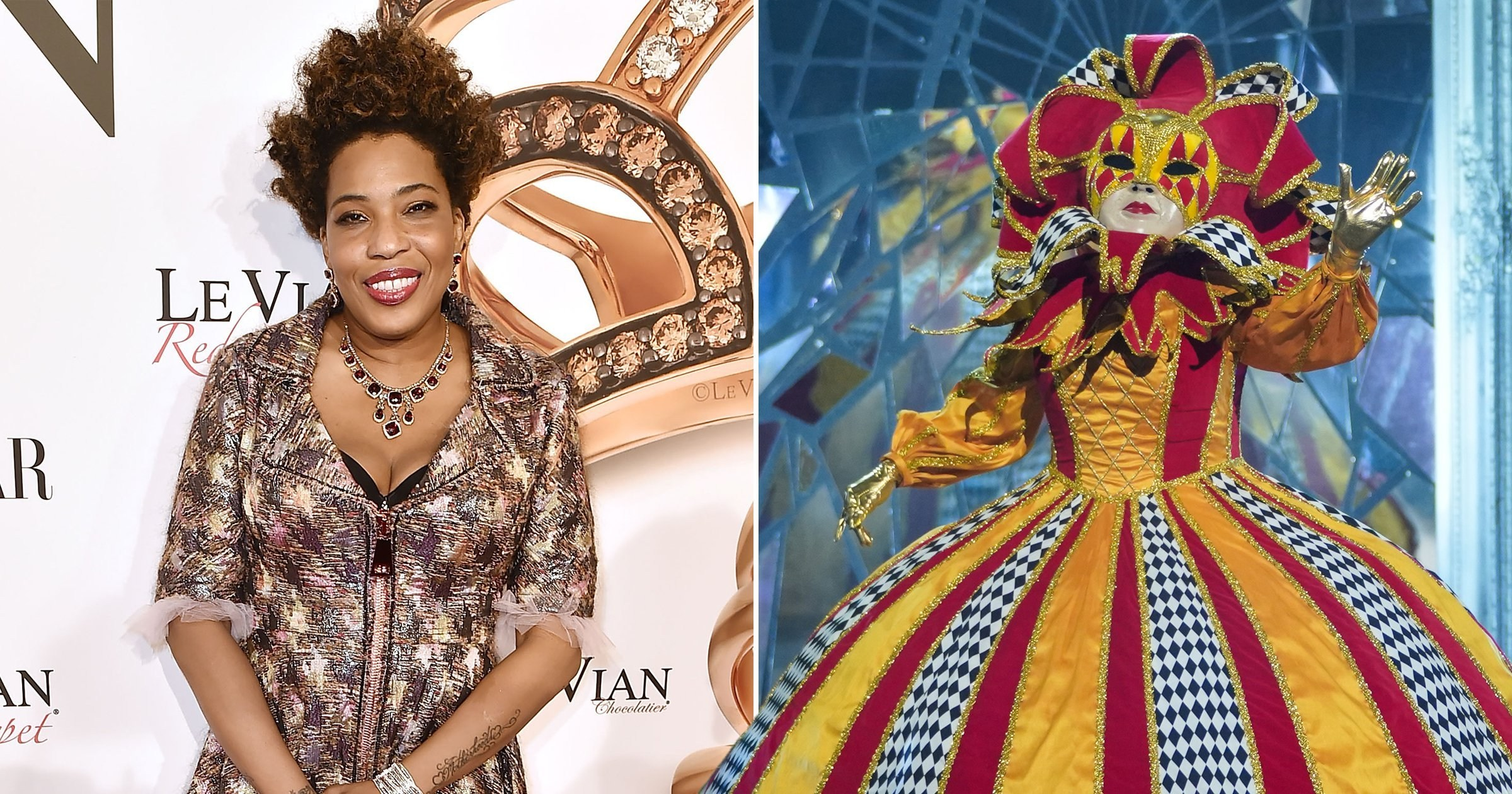 The Masked Singer UK viewers convinced Harlequin is Macy Gray