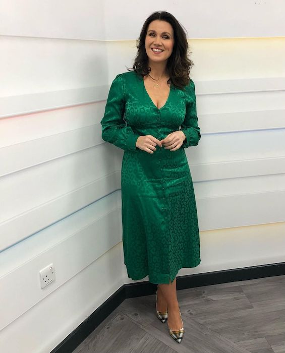 Good Morning Britain's Susanna Reid fires back after sparking reaction with 'inappropriate' dress