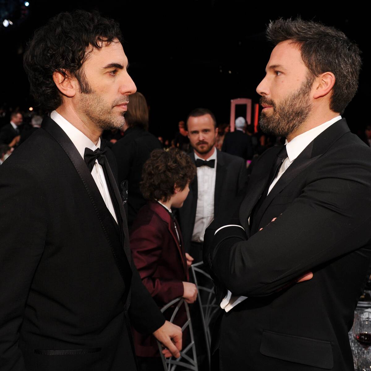 Ben Affleck Calling Out Sacha Baron Cohen's Penis Size Will Grab Your Attention