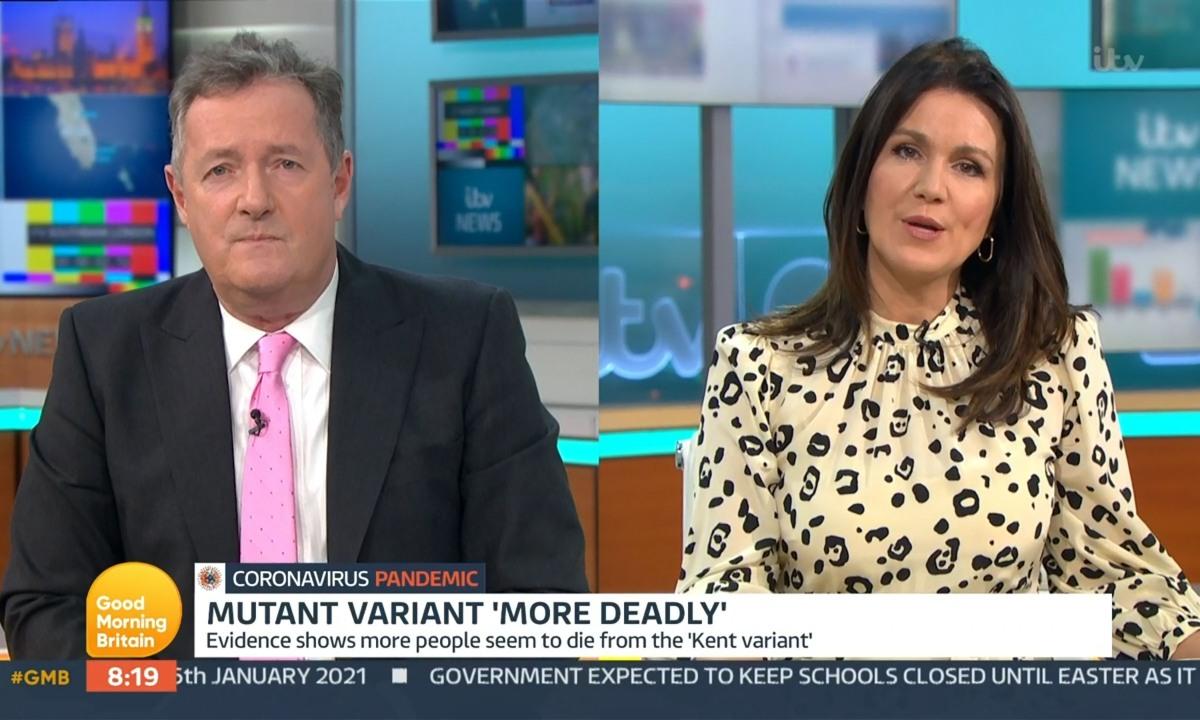Good Morning Britain star Susanna Reid admits struggle with agoraphobia
