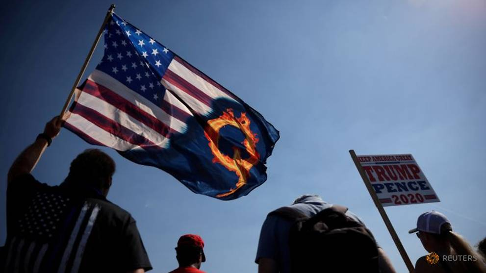 Online merchants linked to QAnon down, but not out, following platform bans
