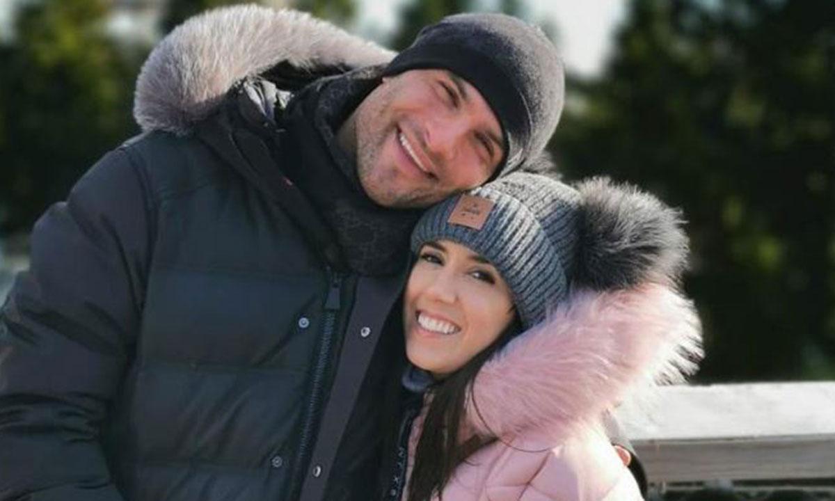 Strictly's Janette Manrara and Aljaz Skorjanec look loved-up in romantic snowy snaps