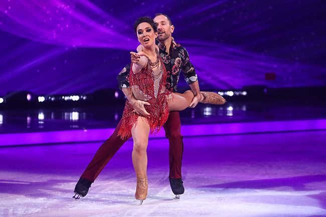 James and Ola Jordan talk Dancing on Ice: we have a clear winner and why it was right that Myleene left