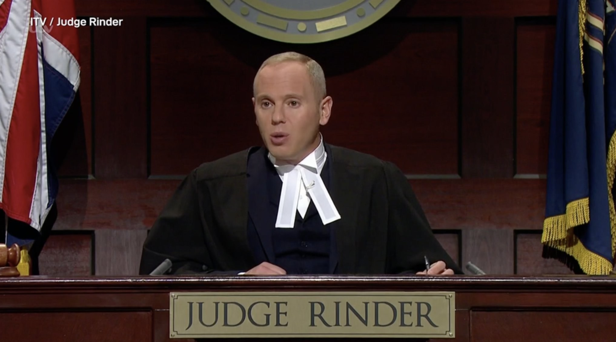 Is Judge Rinder a real judge?