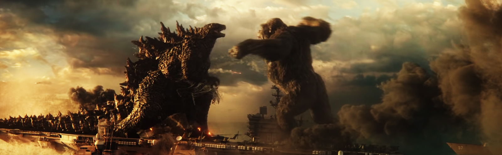 An Important 'Godzilla Vs. Kong' Update: Godzilla Punches Kong, Too