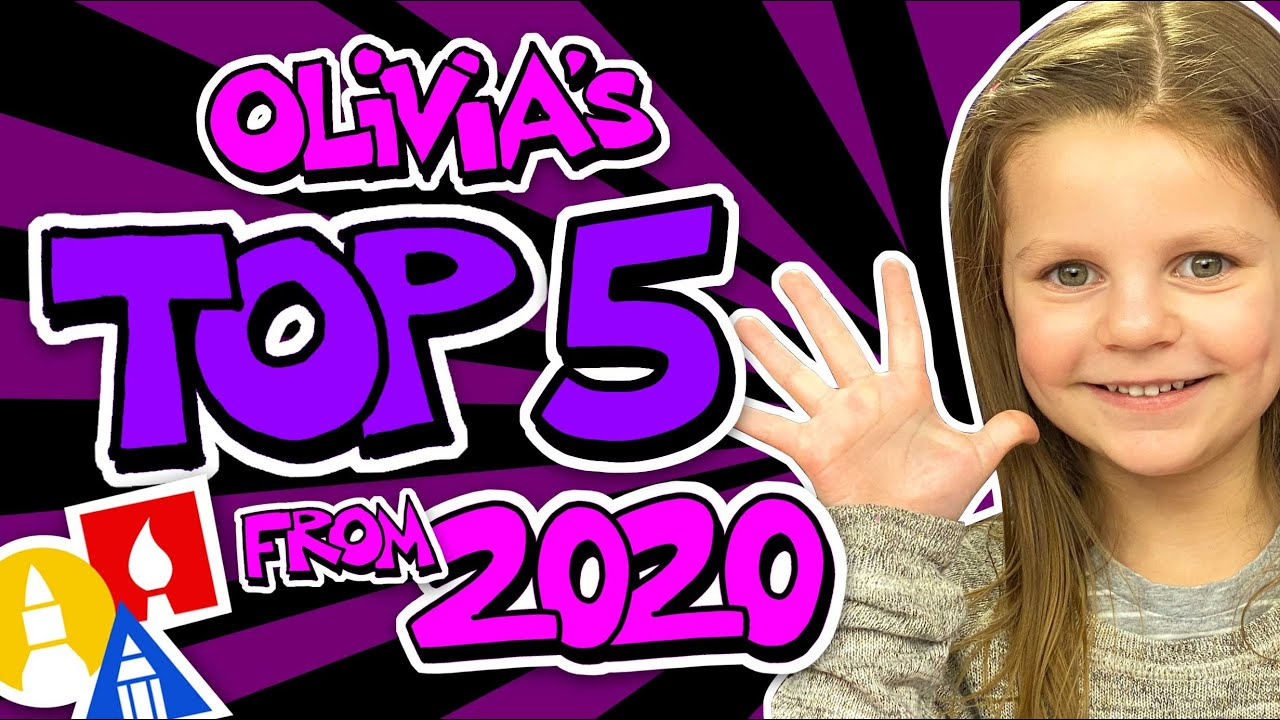 Olivia's Top 5 Favorite Art Lessons From 2020