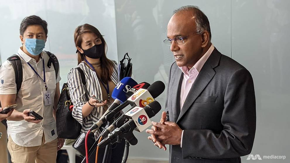 Religious groups asked to be more vigilant after teenager planned mosque attacks: Shanmugam