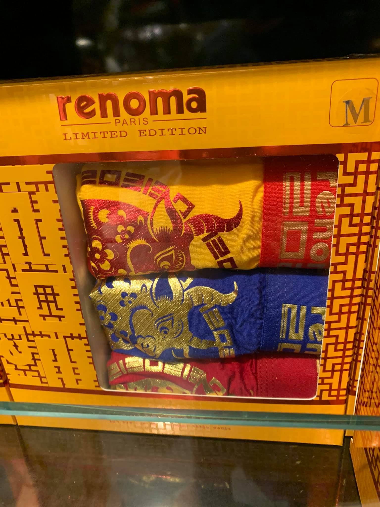 Renoma underwear will give all the huat you need during ban luck & mahjong this CNY