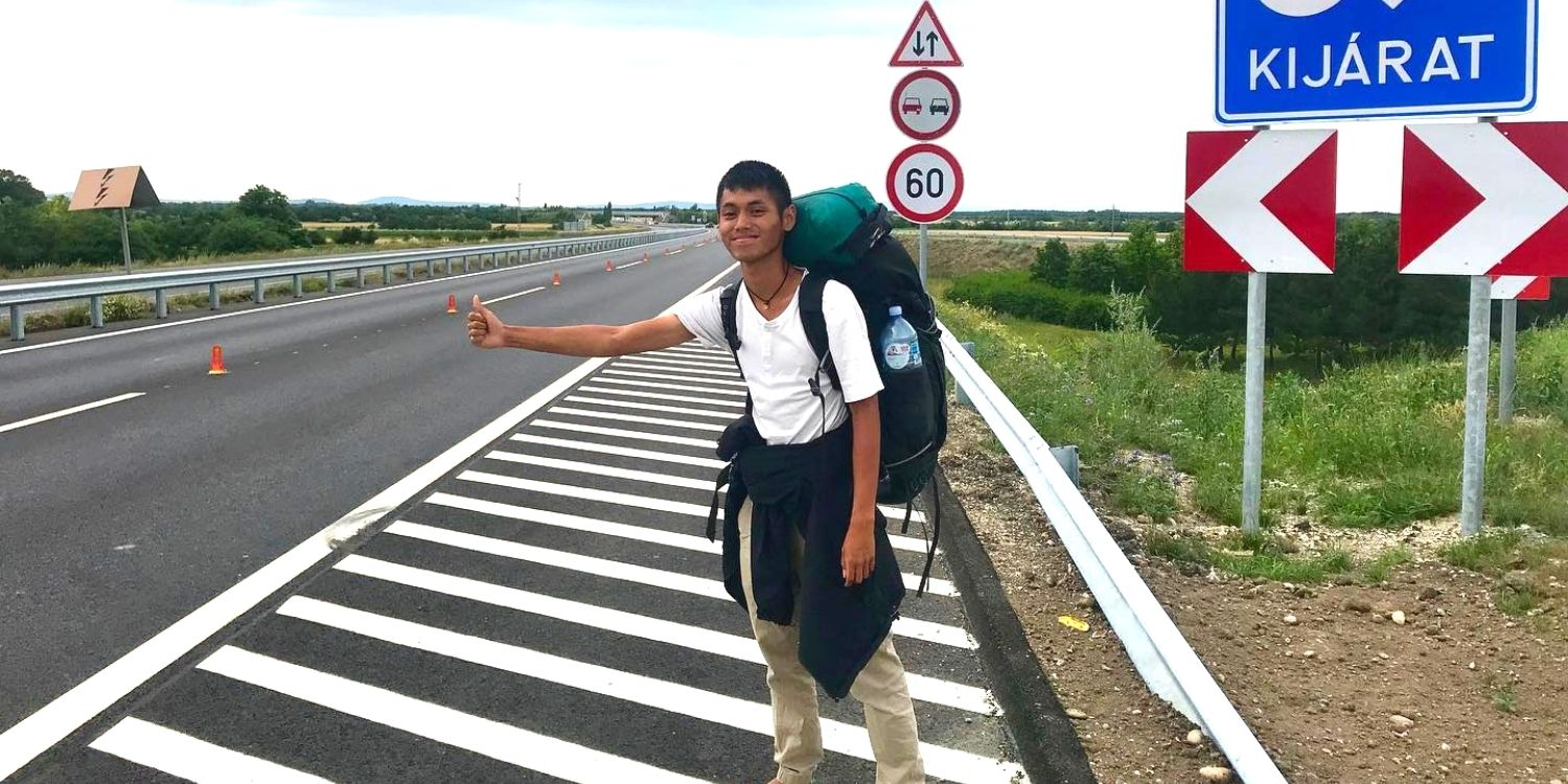 S'pore man backpacks to Canada via 23 countries, spends $10k in 9 months without taking a flight