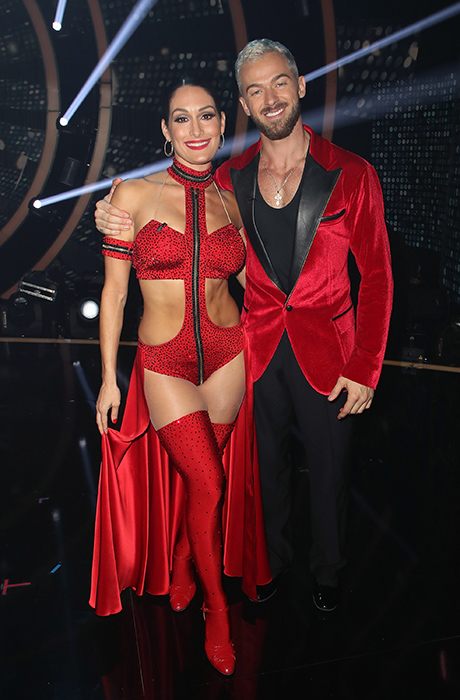 Artem Chigvintsev and Nikki Bella in couples therapy: 'He doesn't realise his tone'