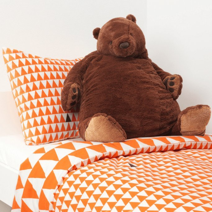 Sluggish ikea bear in Japan always looks like It's had a rough day, is our whole mood during wfh