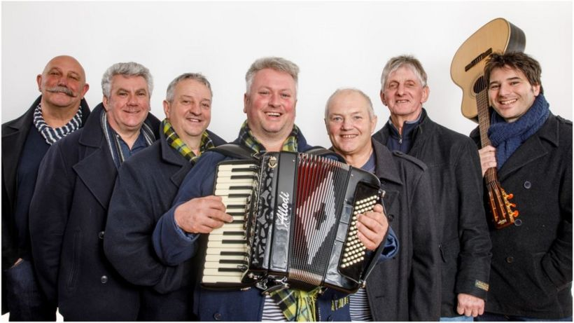Sea shanty group Fisherman's Friends film becomes a musical