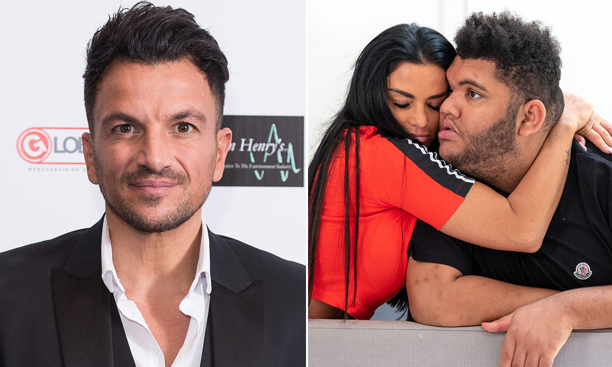 Peter Andre's heartwarming message to Harvey Price after emotional documentary revealed