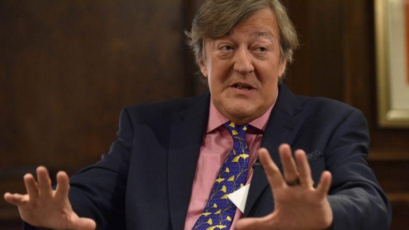 Covid-19 lockdown: Stephen Fry tells Norfolk school staff 'be kind to yourself'