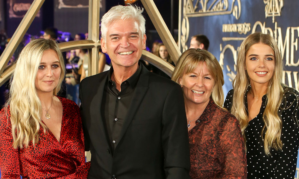 Phillip Schofield shares emotional message to daughter Ruby with rare photo
