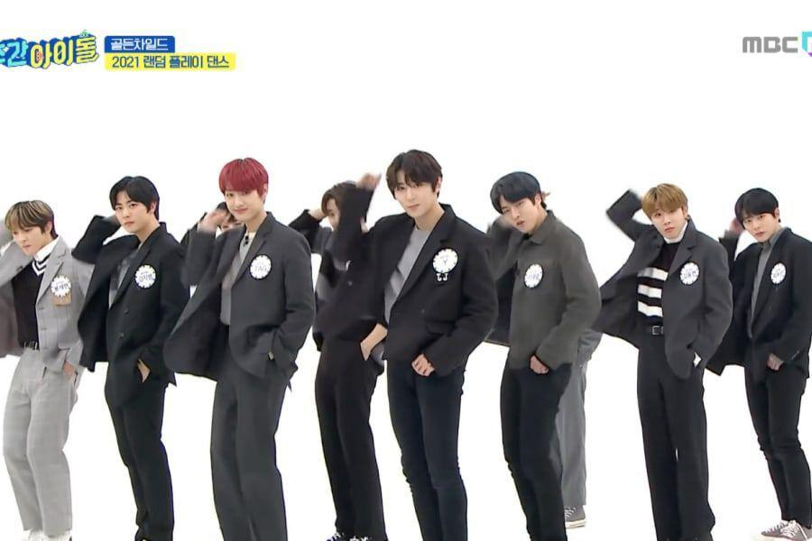 """Watch: Golden Child Wows With Double-Speed Cover Of SEVENTEEN's """"Very Nice"""""""