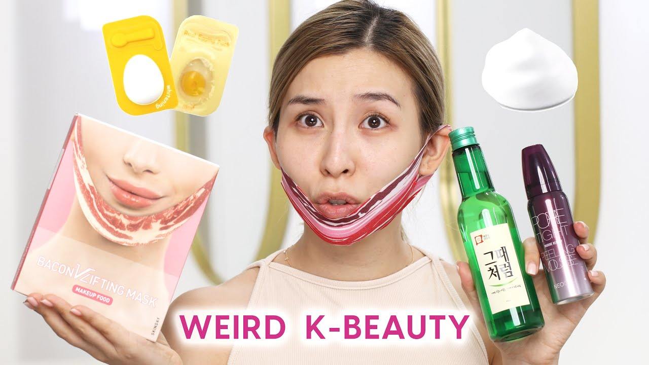 Weird K-Beauty Products The Internet Made Me Buy