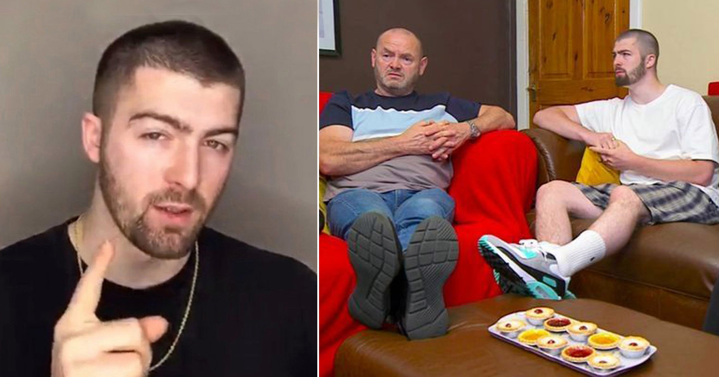 Gogglebox's Tom Malone reveals family's cheeky Easter egg for eagle-eyed viewers