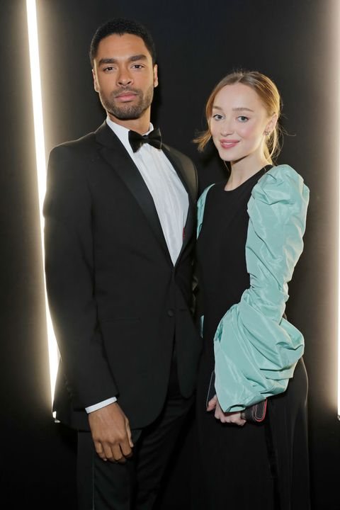 "Bridgerton's Regé-Jean Page Smells ""Really, Really Nice,"" According to Costar Phoebe Dynevor"