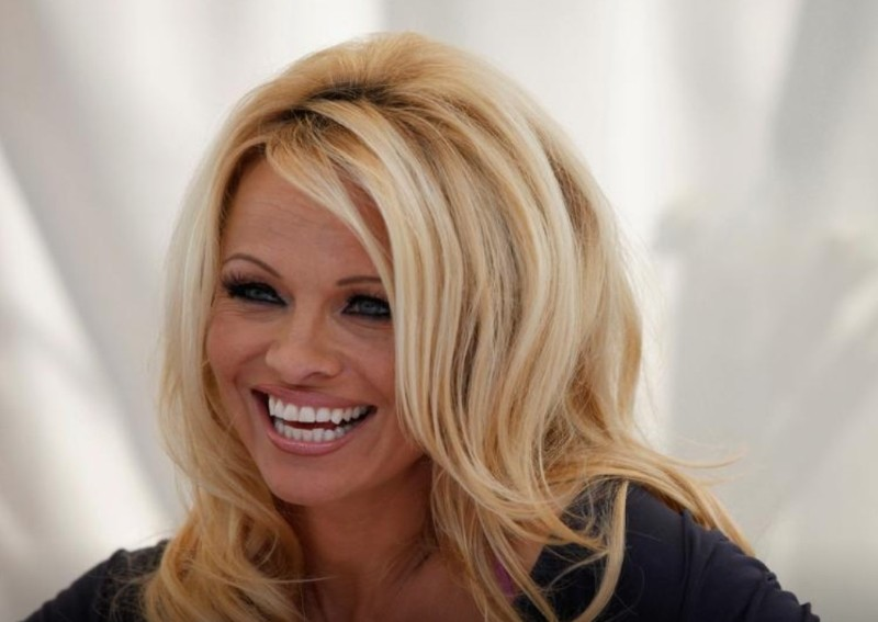 Pamela Anderson almost got married in her pyjamas