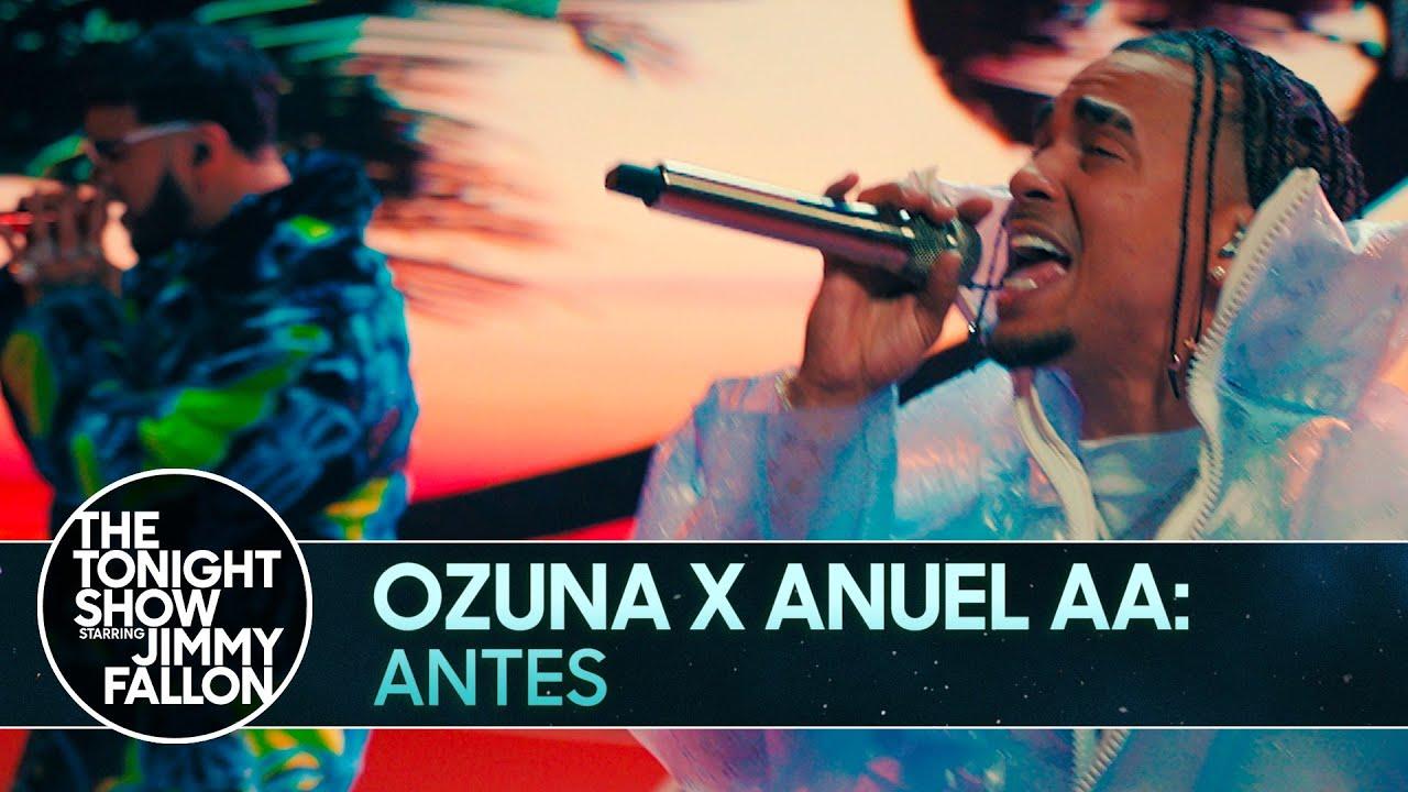 Ozuna x Anuel AA: Antes