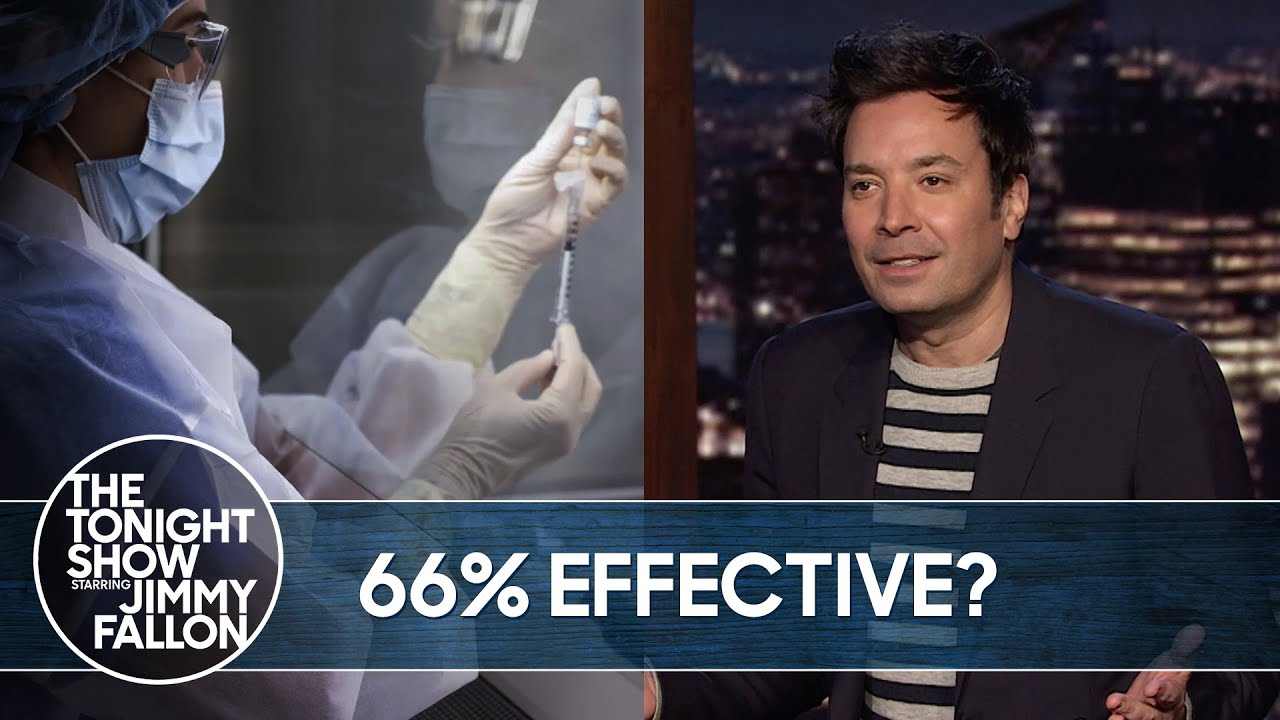 Johnson & Johnson's New COVID-19 Vaccine | The Tonight Show