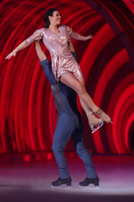 Rebekah Vardy discusses 'thrilling' and 'terrifying' Dancing on Ice journey
