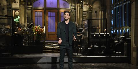"""In Last Night's """"SNL"""" Cold Open, John Krasinski and Cast Tackle the Insanity of the Last Few Weeks"""