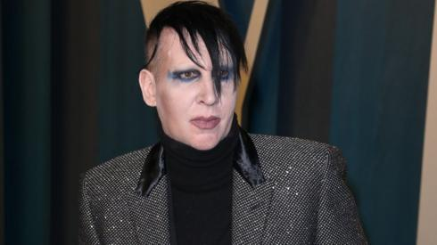 Marilyn Manson dropped by record label over abuse allegations