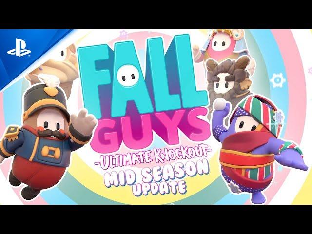 Fall Guys: Season 3 - Mid Season 3.5 Update Trailer   PS4