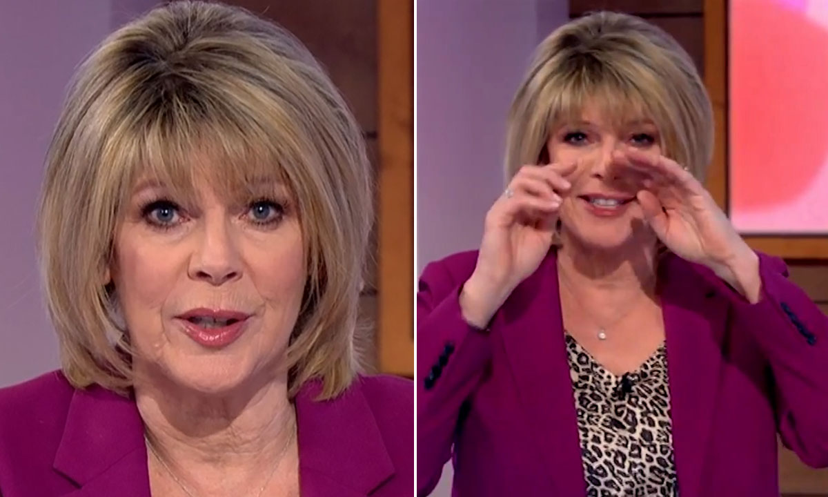 Ruth Langsford makes tearful confession over how much she is missing her mum