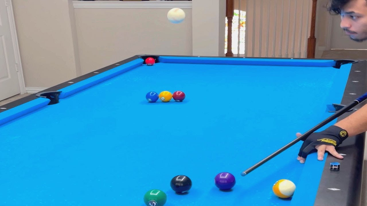 Teens Incredible Pool Trickshots