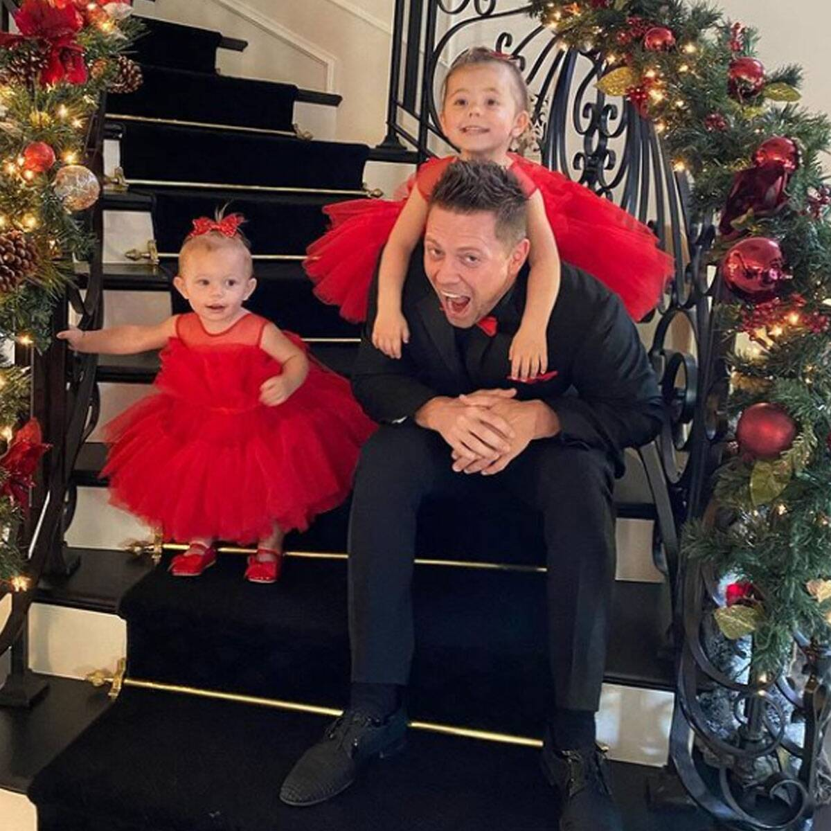 The Miz's Update on Daughters Monroe and Madison Will Melt Your Heart