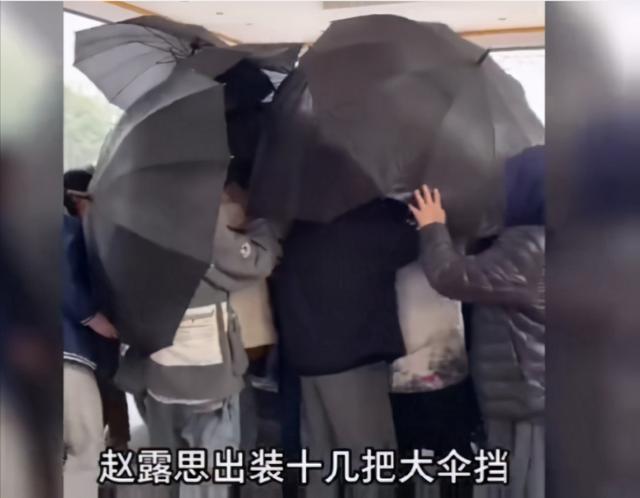 22岁小花太夸张!拍戏数十把大伞遮挡,此前被曝助理为其下跪?