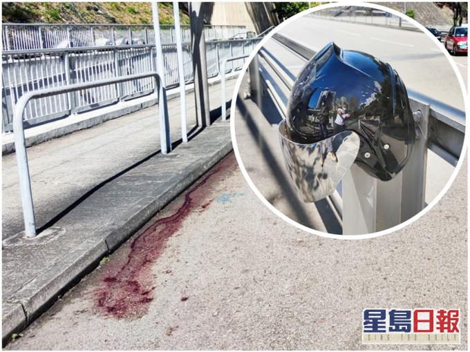 黄大仙电单车勐撞 六旬男途人血流披面昏迷送院
