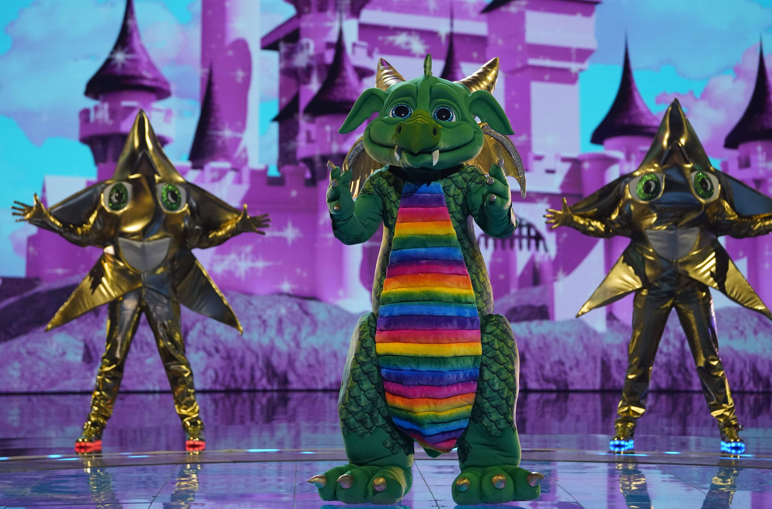 Who went home on The Masked Singer UK? Eighth contestant revealed as Dragon leaves competition