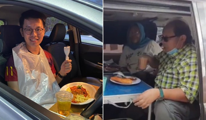 It's OK For PJ People To Dine-In Their Cars During MCO, Says PJ Police Chief