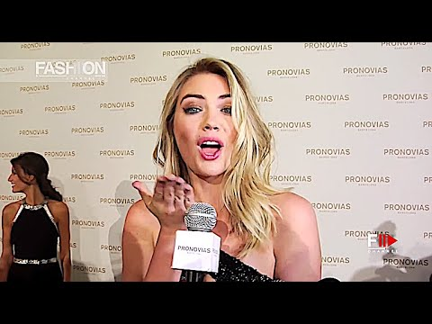 KATE UPTON at PRONOVIAS Photocall Barcelona Bridal 2017 - Fashion Channel