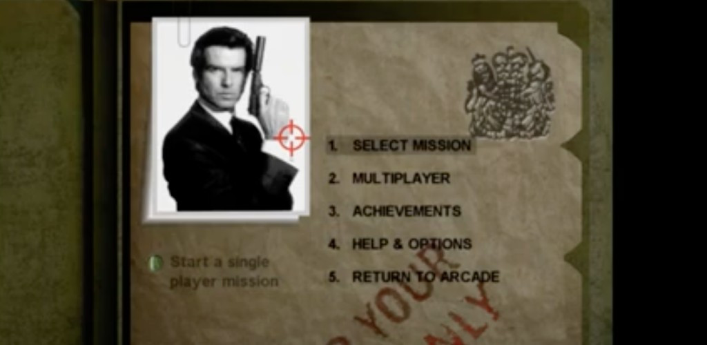 The Canceled Xbox 360 'GoldenEye' Remake Leaked Online And It's Playable