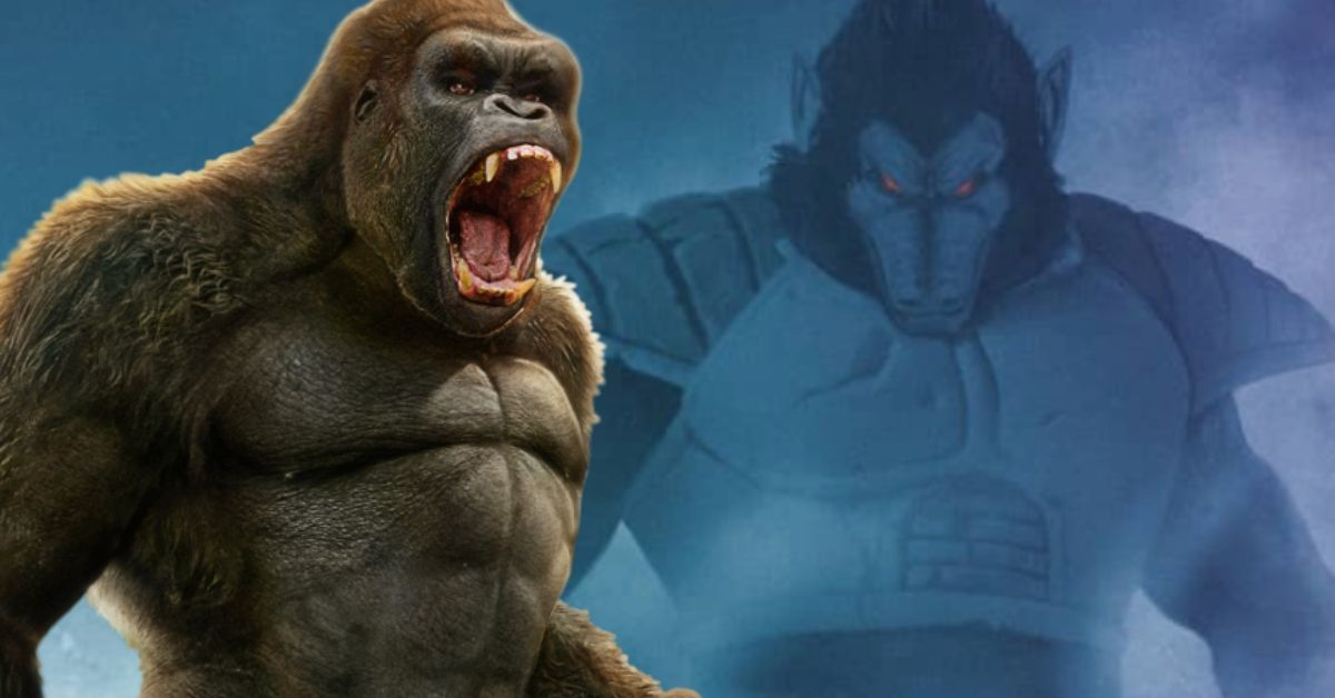Godzilla vs Kong Poster Imagines the Perfect Dragon Ball Crossover
