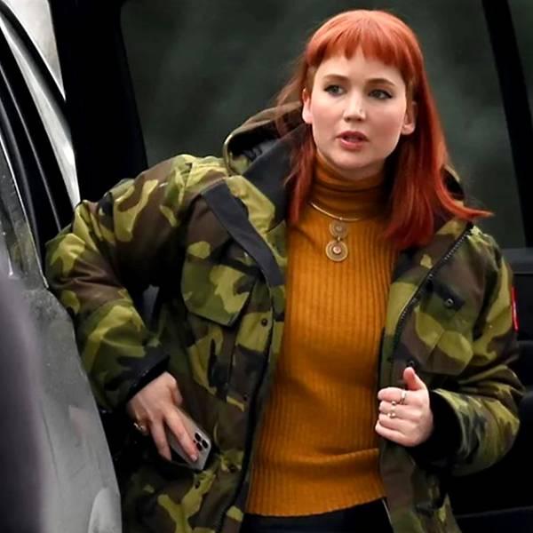 Jennifer Lawrence injured on set of Netflix's Don't Look Up