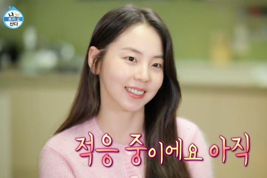 """Ahn So Hee Reveals Her New Home And Gets Emotional While Talking About Her Family On """"Home Alone"""" (""""I Live Alone"""")"""