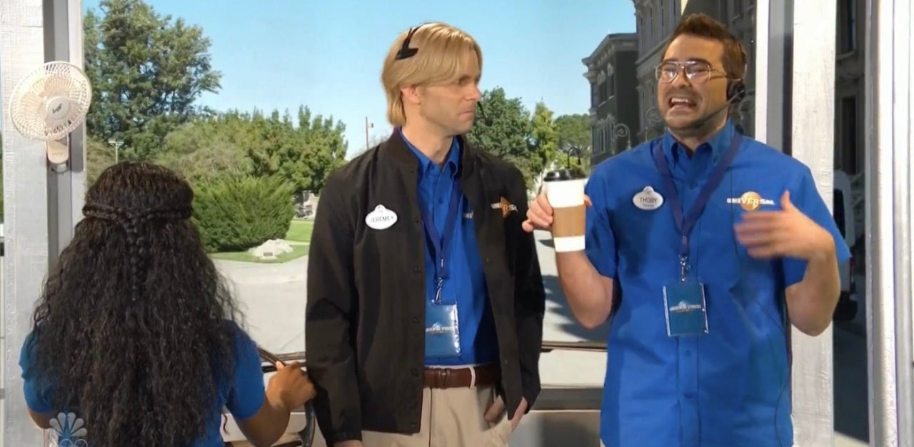 Saturday Night Live Gives an Awkward NSFW Tour Through Universal Studios