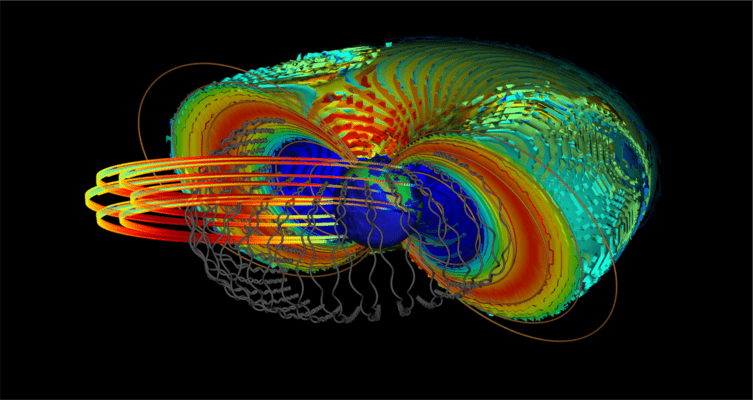 Electrons Can Get Accelerated to Nearly the Speed of Light As They Interact With the Earth's Magnetosphere