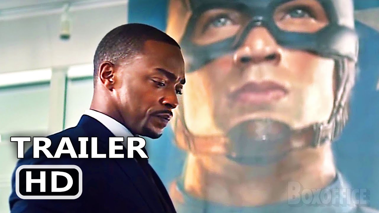 THE FALCON AND THE WINTER SOLDIER Trailer # 2 (2021) Sebastian Stan Series